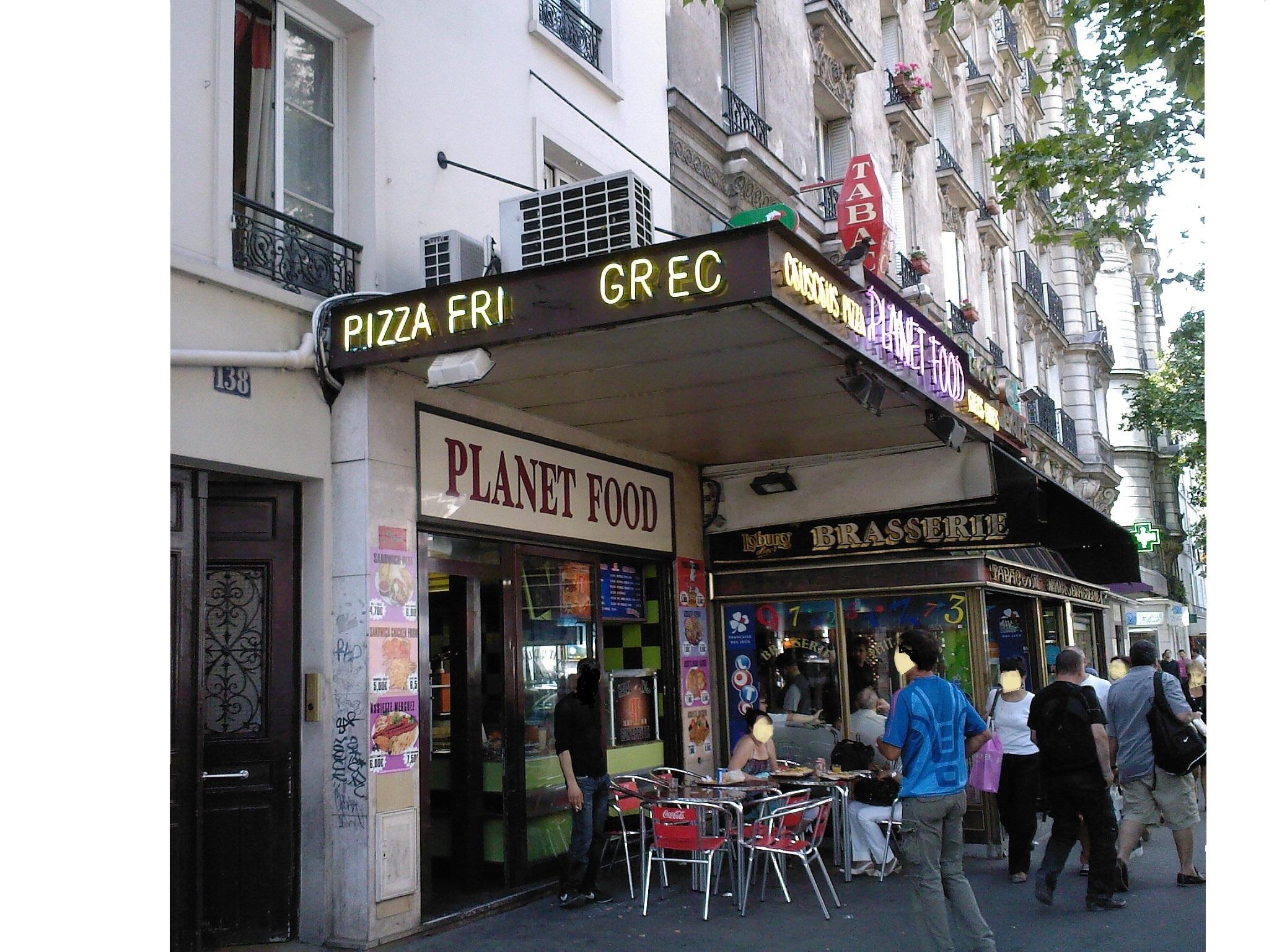 Planet Food - Paris 14