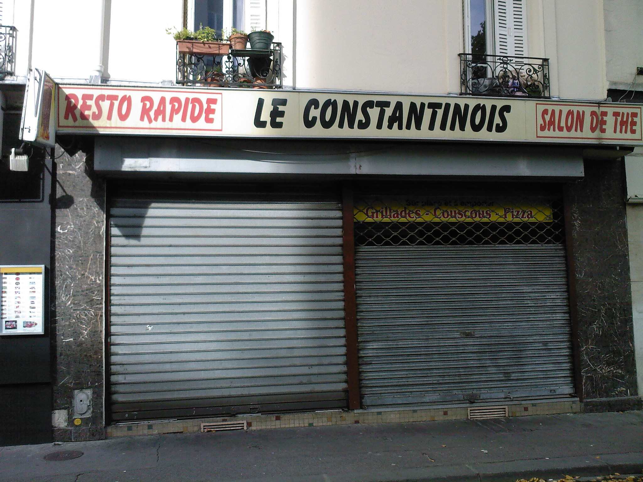 Le Constantinois - Paris 14