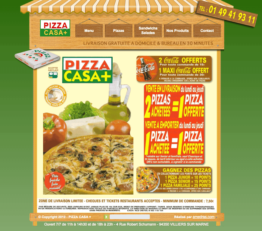 pizza casa plus villiers sur marne avis tarifs horaires t l phone