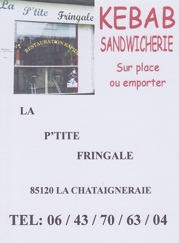 La p'tite fringale - La Châtaigneraie