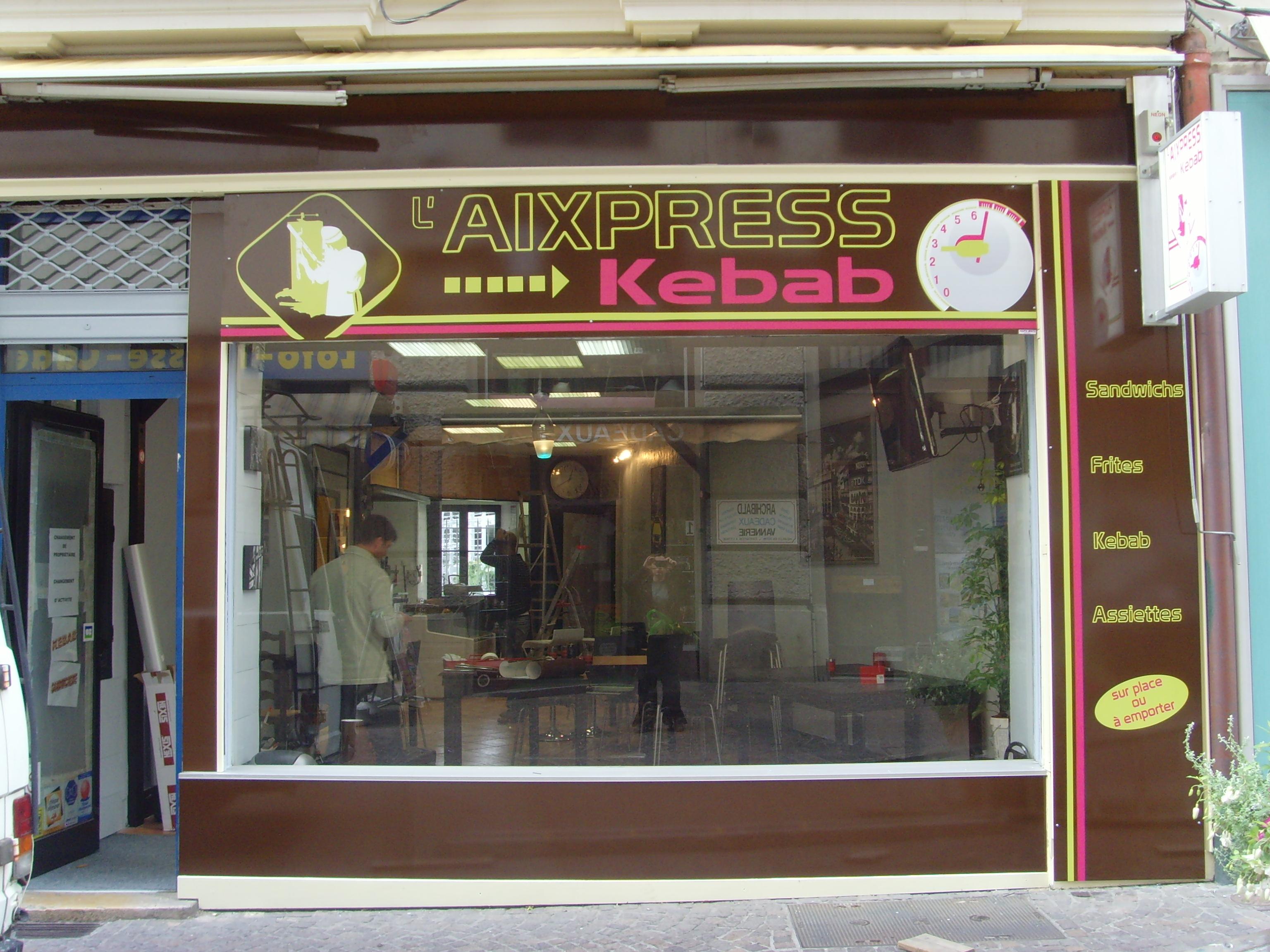 L'Aixpress kebab - Aix-les-Bains