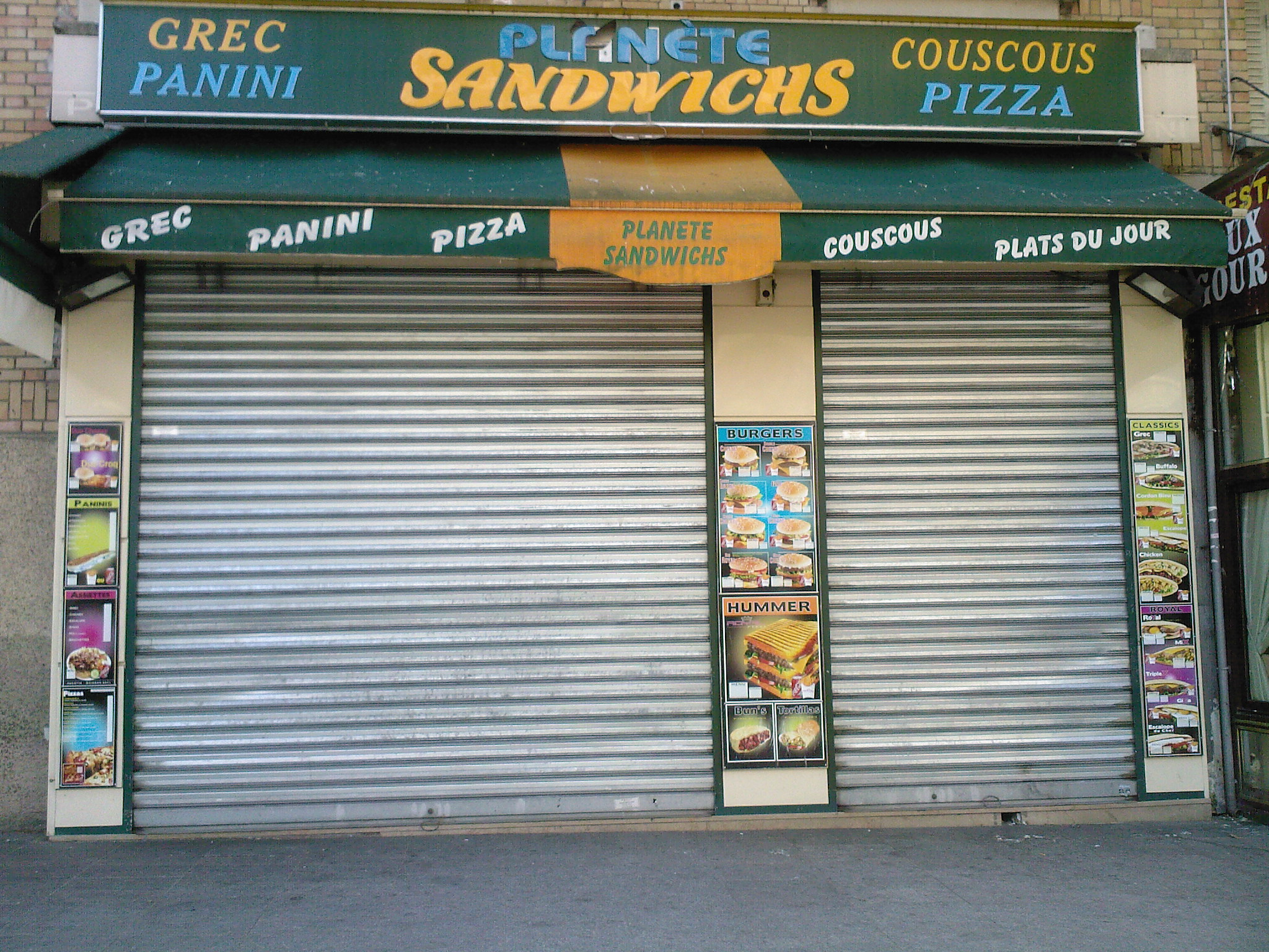 Planete Sandwichs - Paris 14