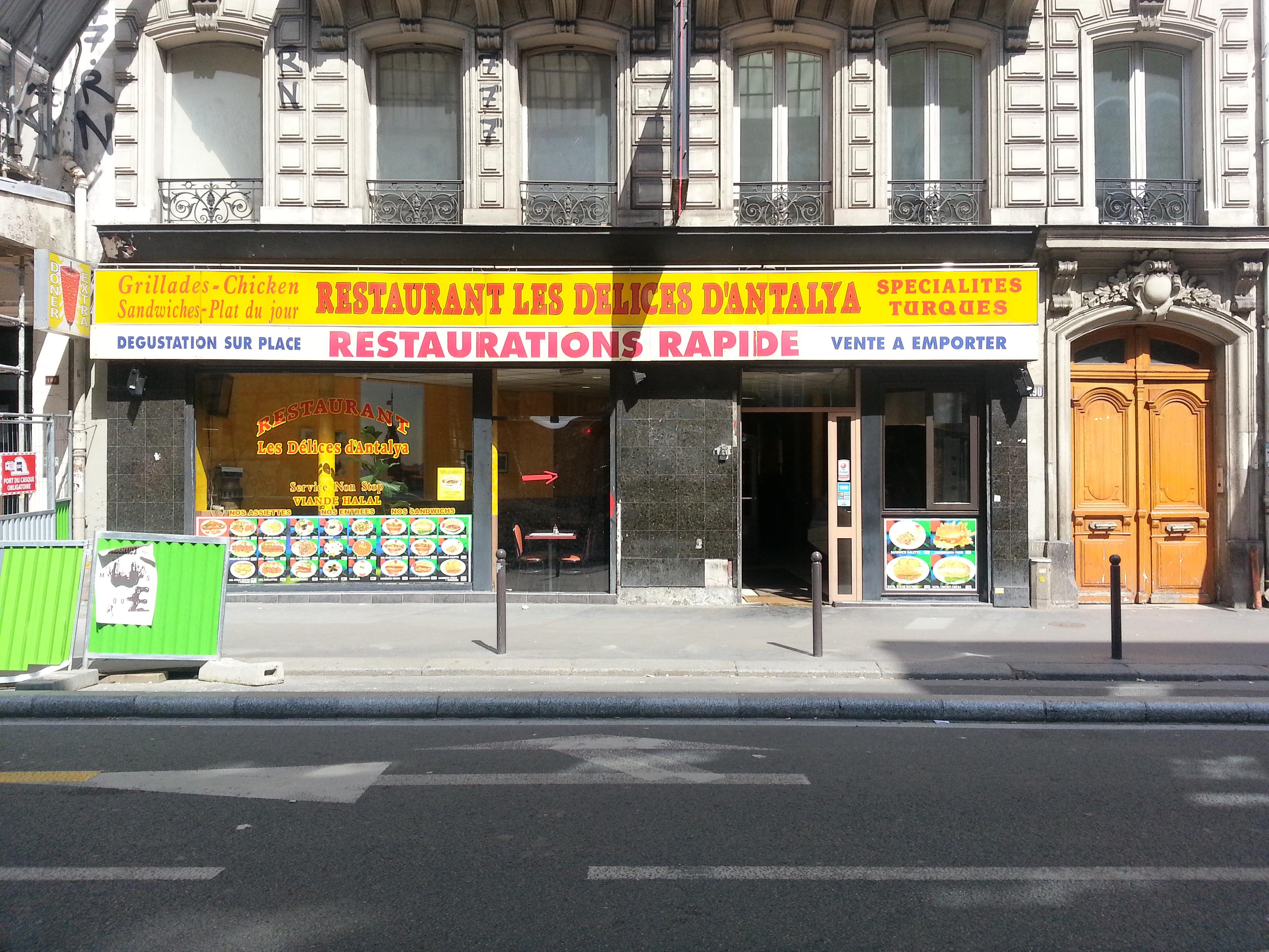 Délices d'Antalya à Paris 19