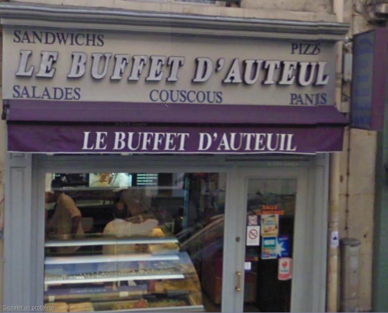 Buffet d'Auteuil