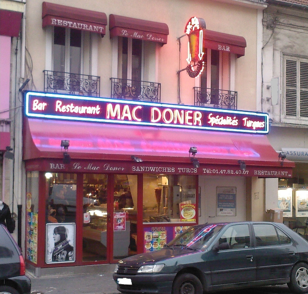 Mac Döner - Colombes