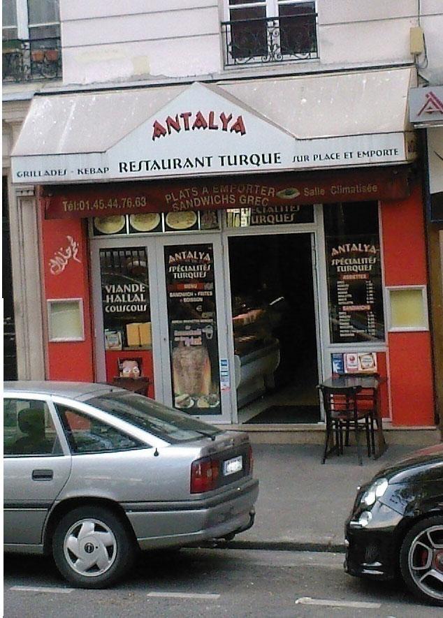 Antalya - Paris 15