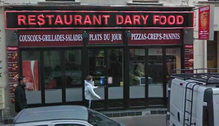Kebab Dary Food - Paris 15