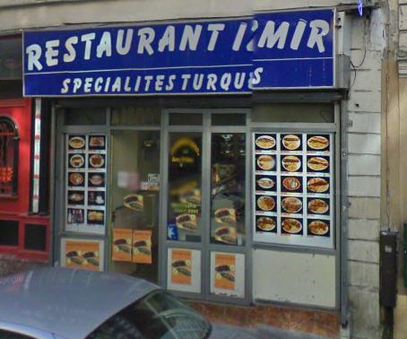 Restaurant Izmir - Paris 09