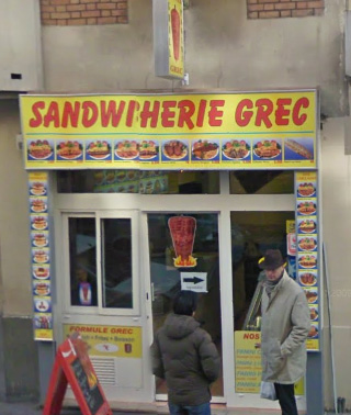 Sandwicherie Grec - Paris 15