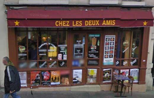 Chez les deux amis - Paris 20