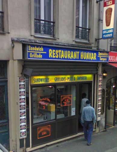 Restaurant Hunkar