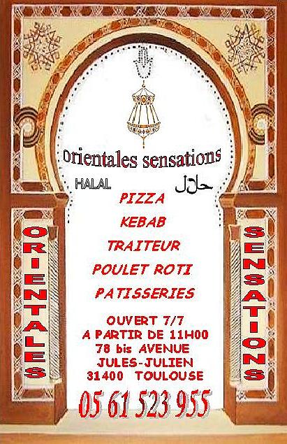 Orientales Sensations à Toulouse