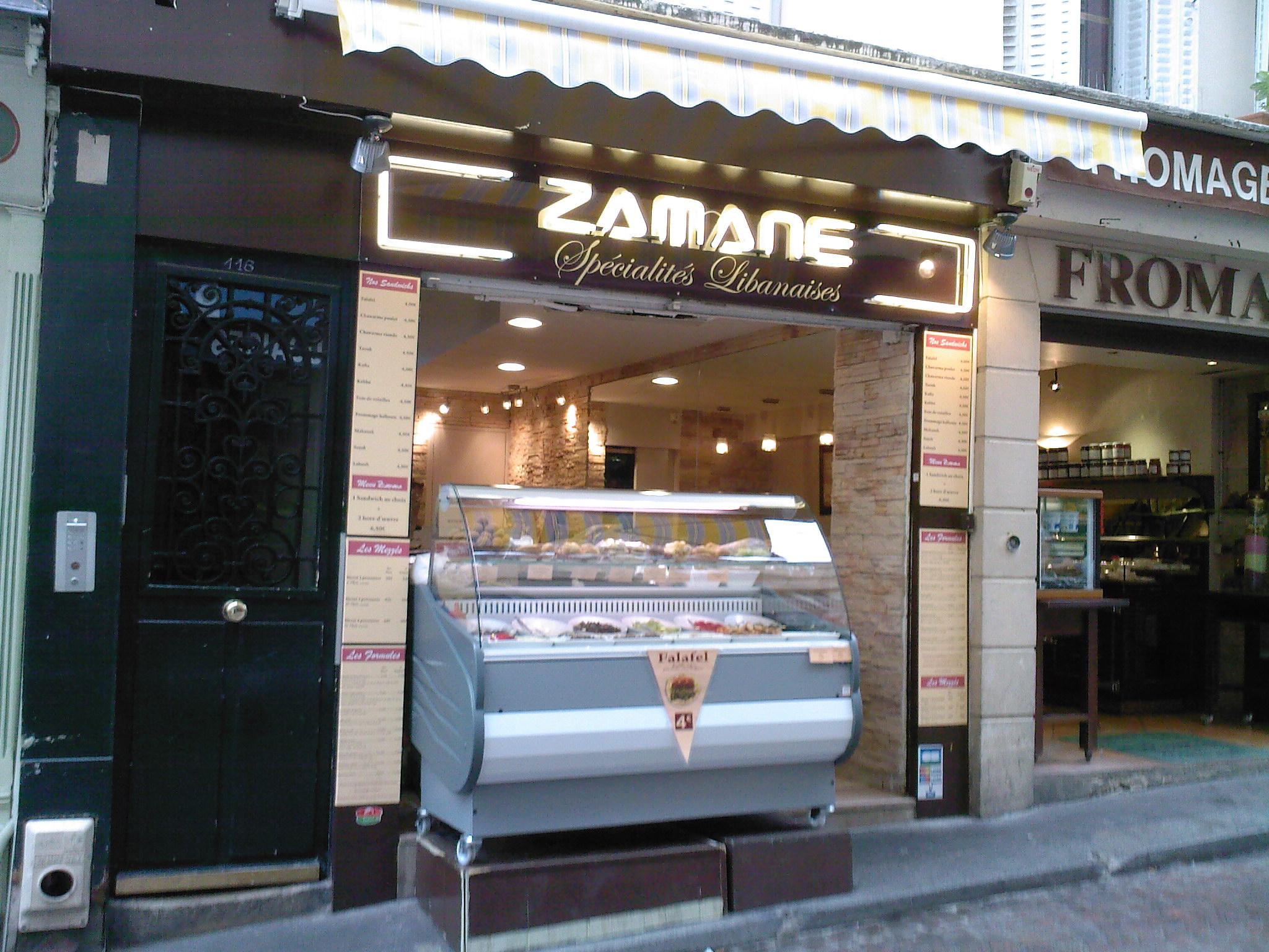 Zamane à Paris 05
