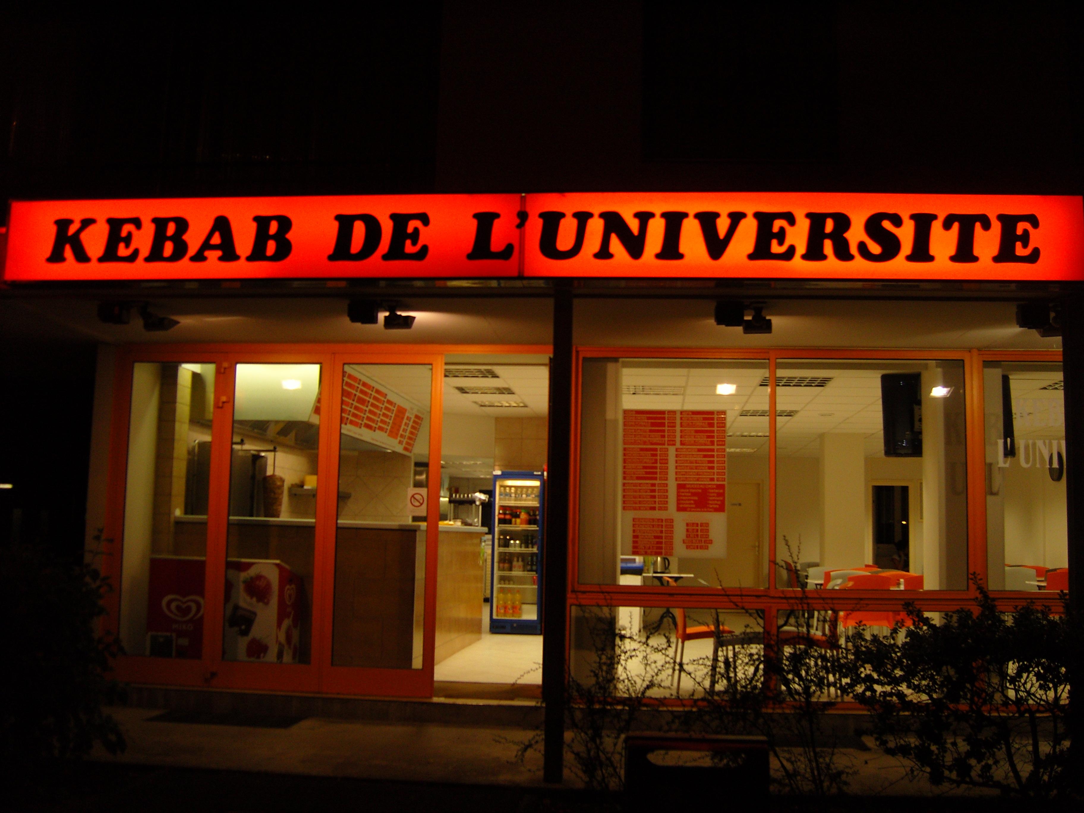 Kebab de L'Université à Dijon