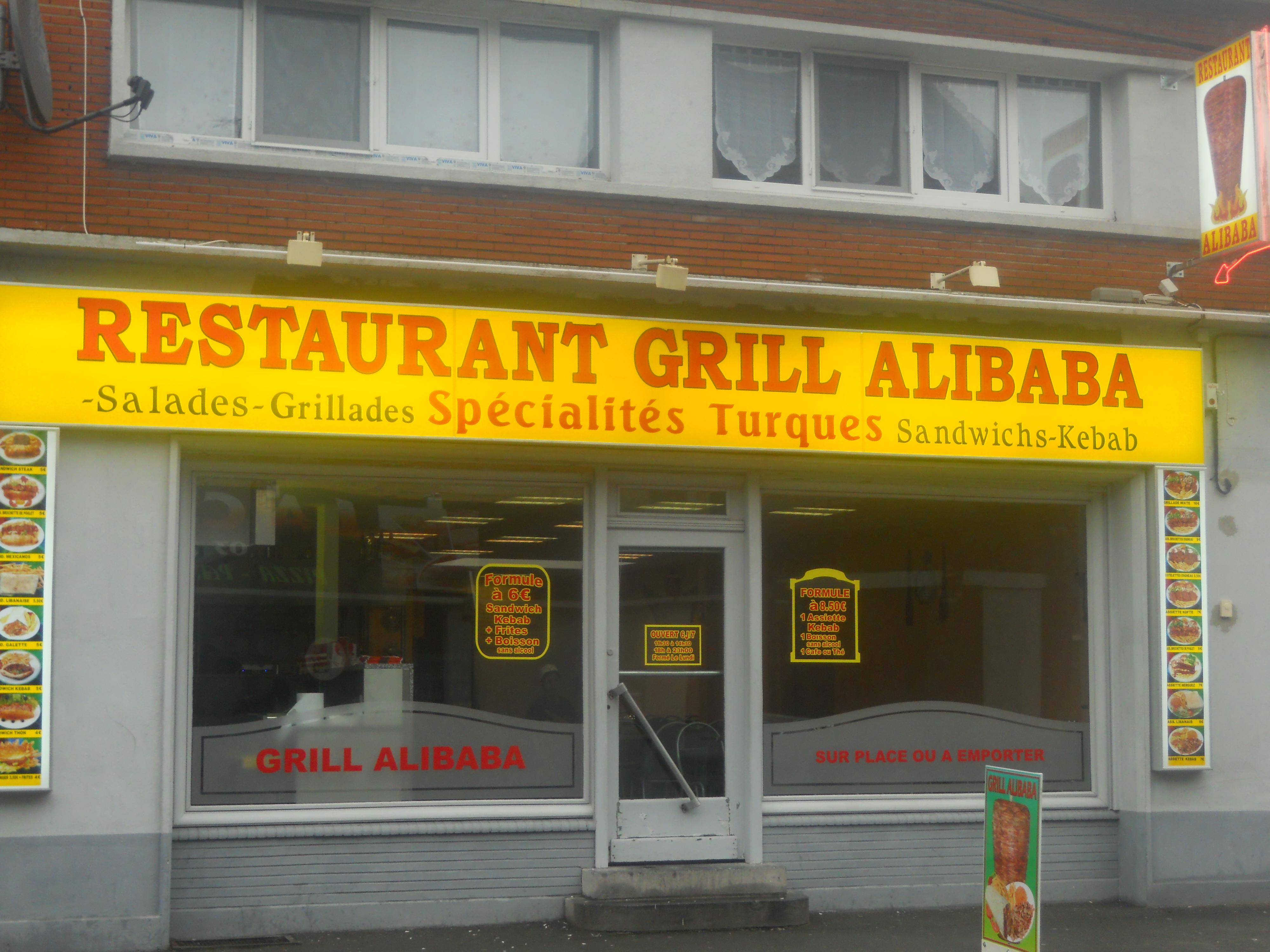 Grill Alibaba