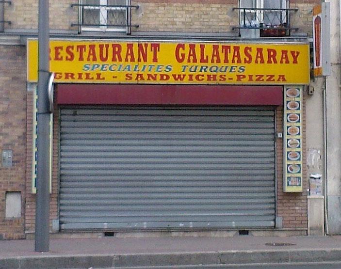 Restaurant Galatasaray - Malakoff