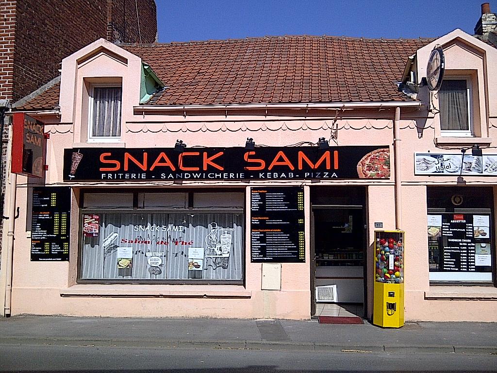 Snack Sami à Sin-le-Noble