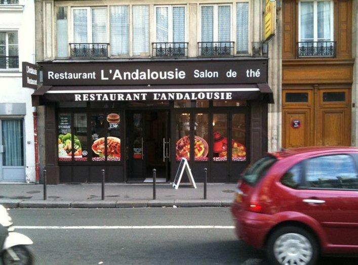 L'Andalousie - Paris 10