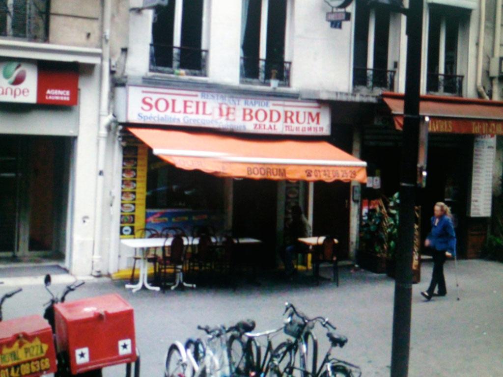 Le soleil de Bodrum - Paris 19
