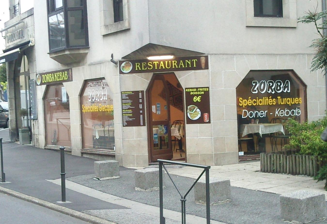 Zorba kebab - Quimper
